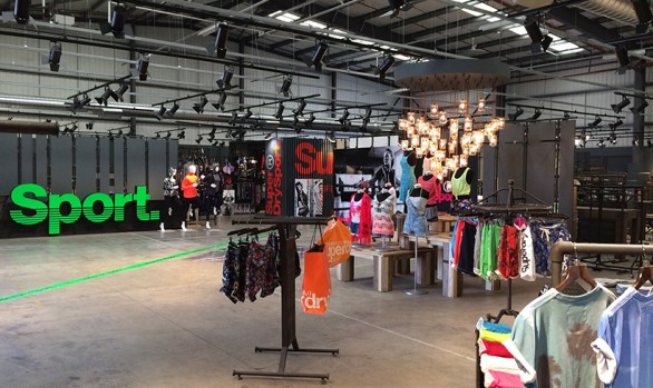 Superdry Mock Shop, Cheltenham HQ
